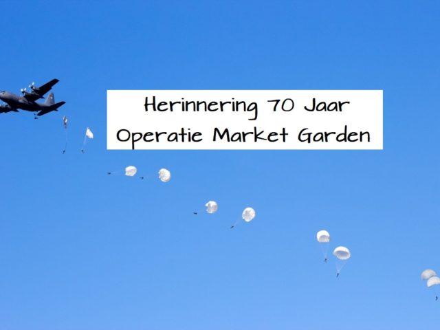 Herinnering 70 Jaar Operatie Market Garden