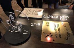 Uitreiking Cultuurprijs 2019